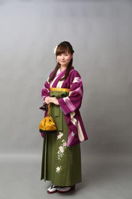 Shiori☆  Purple × Green