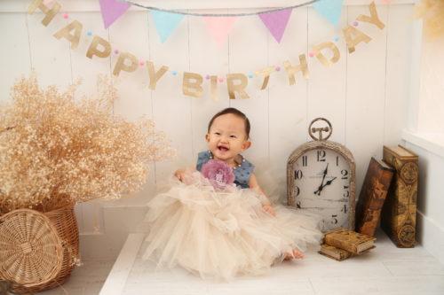 1歳誕生日おめでとう